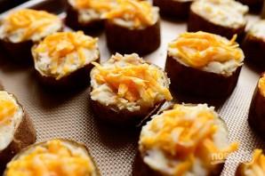 Фаршированный печеный картофель - фото шаг 7