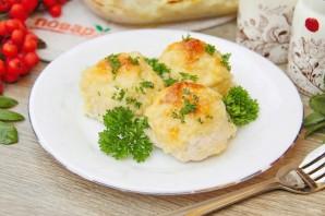 Творожно-куриные шарики под кабачковым соусом - фото шаг 11