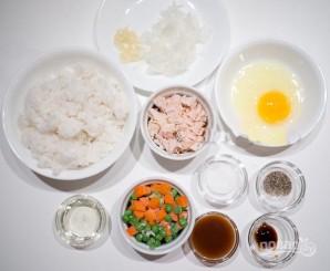 Рис с курицей на сковороде - фото шаг 1