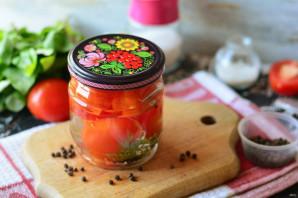 Сладкие помидоры с лимонной кислотой на зиму - фото шаг 7
