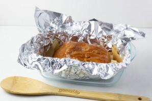 Запеченная свиная корейка - фото шаг 5