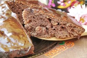 Шоколадный пирог с изюмом - фото шаг 11