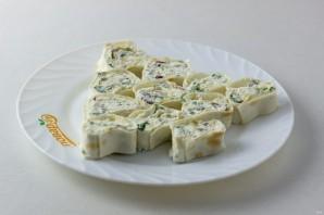 Закусочный рулет с сыром - фото шаг 6