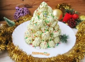 "Торт ""Новогодняя ёлочка из безе"" - фото шаг 12"