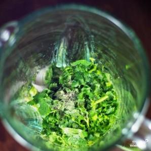 Зеленый салат с помидорами и авокадо - фото шаг 4
