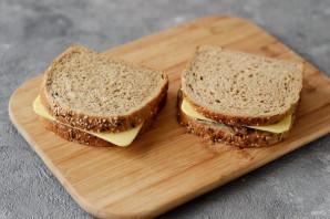 Сэндвич с грибами и сыром - фото шаг 5