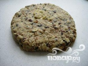 Овсяное печенье с миндалем и шоколадом - фото шаг 5