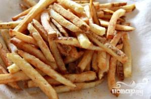 Хрустящий картофель-фри - фото шаг 6