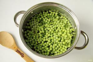 Зеленый горошек на зиму - фото шаг 3