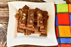 Бородинские сухарики с чесноком в духовке - фото шаг 10