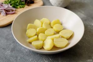 Марокканский картофельный салат - фото шаг 3