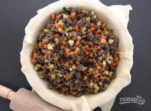 Пирог с мясом (вкусный) - фото шаг 2