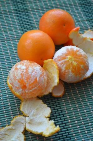 Карамельные мандарины - фото шаг 1