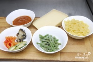 Овощная паста - фото шаг 1