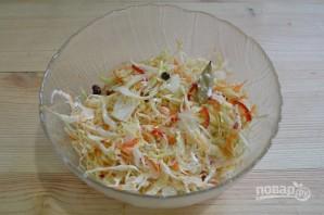 Салат из капусты с горячим маринадом - фото шаг 11