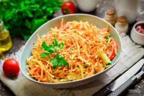 """Салат """"Муравейник"""" с корейской морковью - фото шаг 10"""