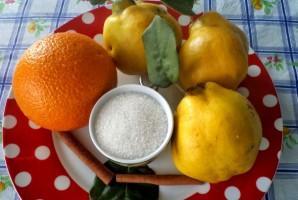 Варенье из айвы с апельсином - фото шаг 1