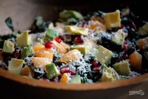 Новогодний салат с мандаринами - фото шаг 5