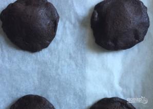 Шоколадное печенье с начинкой - фото шаг 7