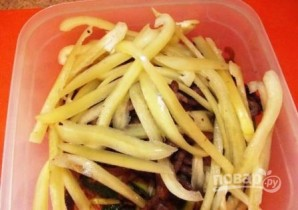 Огурцы по-корейски с мясом - фото шаг 7