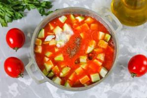 Кабачки в томатном соке - фото шаг 5