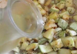 Суп из кабачков с грибами   - фото шаг 4
