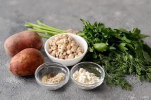 Котлеты из нута и картофеля - фото шаг 1
