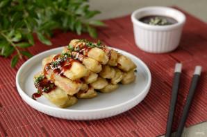 Хрустящие баклажаны в кисло-сладком соусе - фото шаг 7