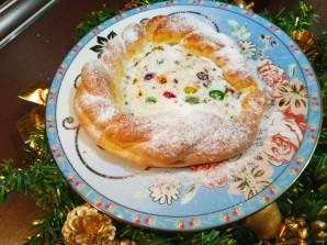 Пирог с творогом и шоколадом - фото шаг 10