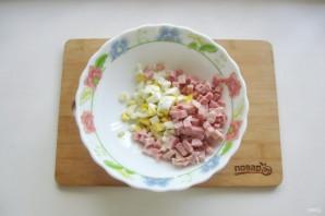 Салат с картошкой и ветчиной - фото шаг 3