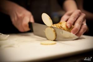 Картофельная запеканка с беконом - фото шаг 3