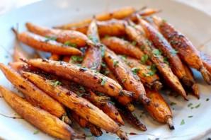 Запеченная морковь с бальзамическим уксусом - фото шаг 7