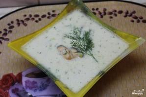 Сливочный суп с мидиями - фото шаг 3