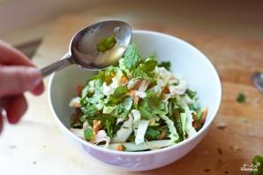 Овощной салат с курицей - фото шаг 9