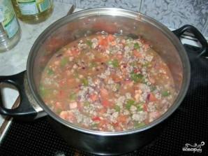 Суп чили с фасолью - фото шаг 6