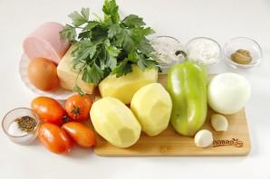 Картофельная запеканка на сковороде - фото шаг 1