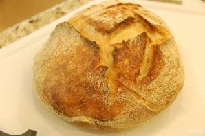 Хрустящий хлеб в духовке - фото шаг 8