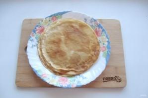 """Блинная закуска """"Пеньки"""" - фото шаг 4"""