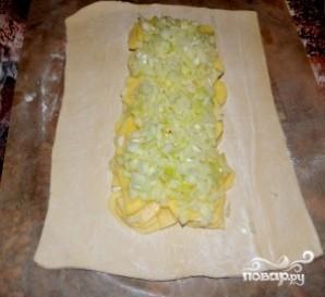 Пирог со щукой - фото шаг 6