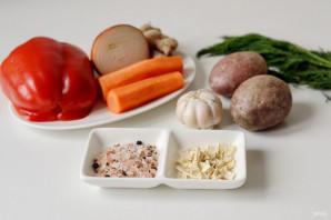 Имбирный суп-пюре - фото шаг 1