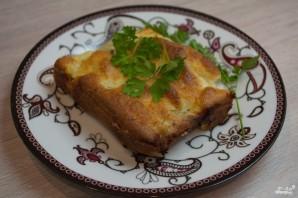 Пирог с курицей и картофелем - фото шаг 10
