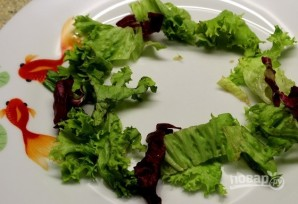 Салат с креветками и овощами - фото шаг 5