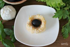 Сырные шарики с маслинами - фото шаг 5
