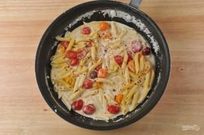 Запечённая паста с креветками - фото шаг 4