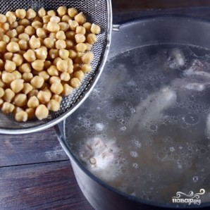 Нутовый суп - фото шаг 6