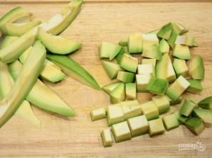 Зеленый салат с авокадо - фото шаг 2