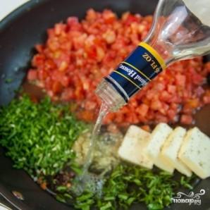 Спагетти с креветками в сливочно-томатном соусе - фото шаг 2