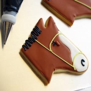 """Печенье """"Лошадь"""" - фото шаг 4"""