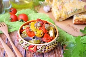 Салат из запечённых овощей - фото шаг 8