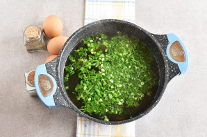 Суп с крапивой - фото шаг 8
